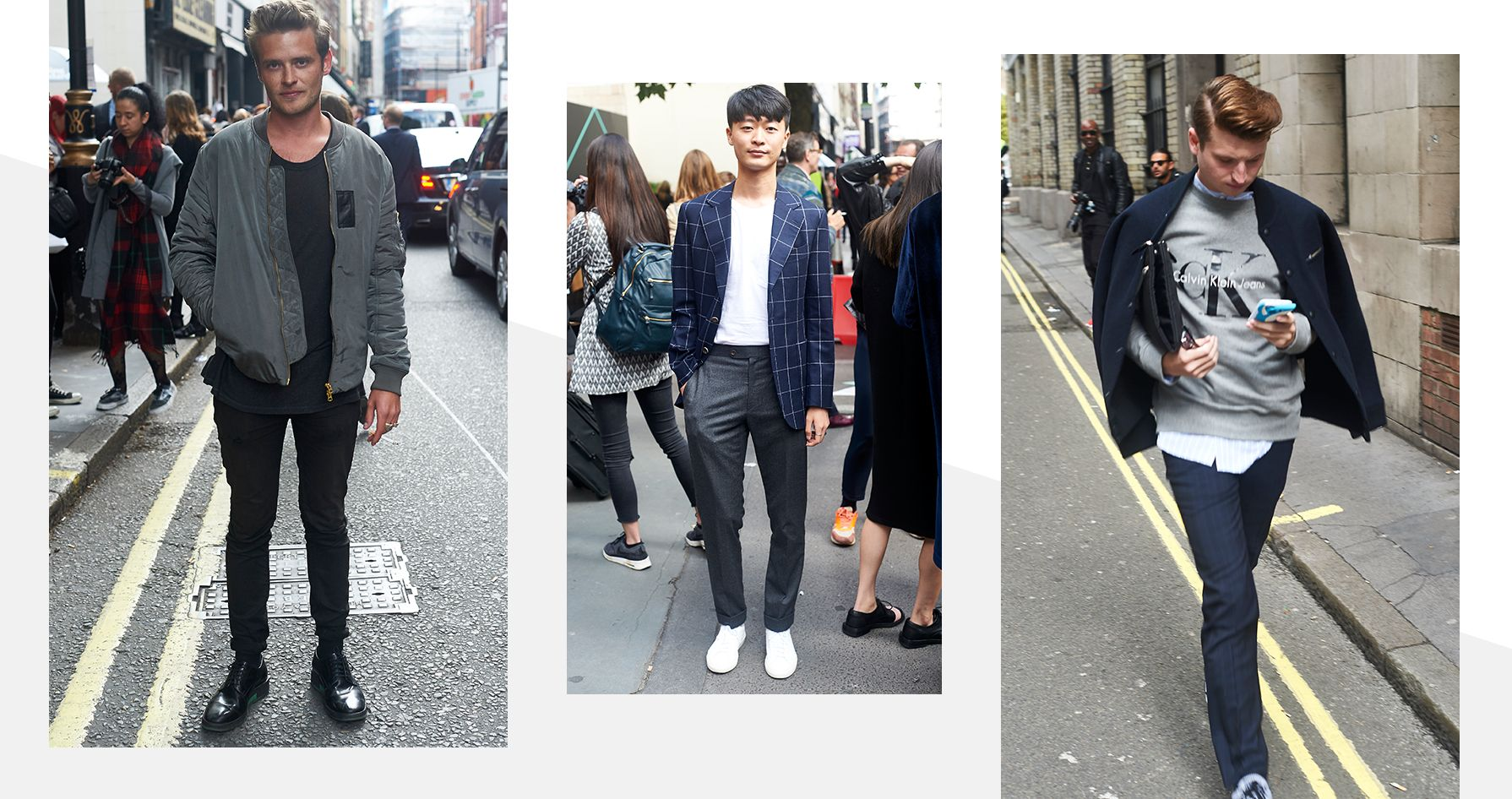 MENSWEAR STREETSTYLE AT LFW