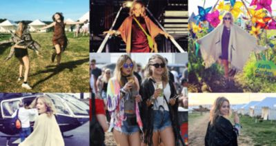 GLASTONBURY WITH POPPY JAMIE