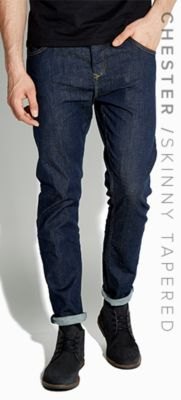 CHESTER / SKINNY TAPERED JEANS
