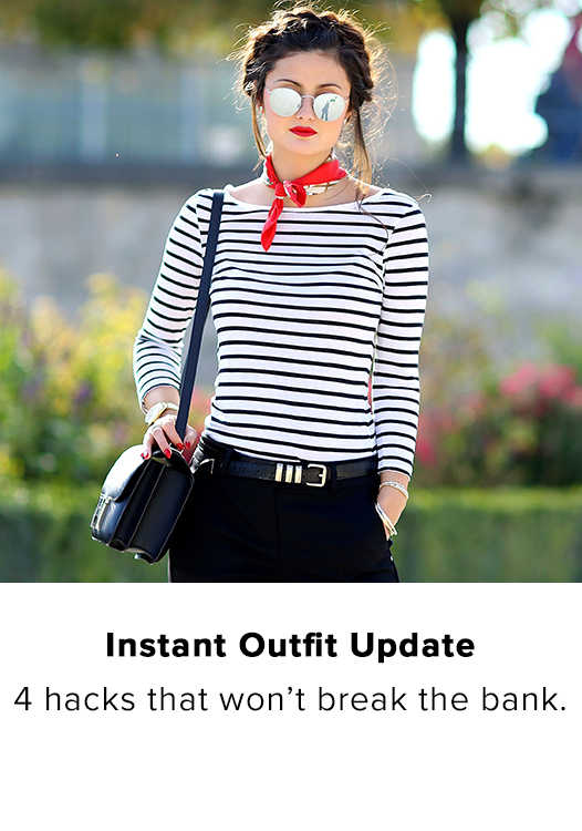 INSTANT OUTFIT UPDATE