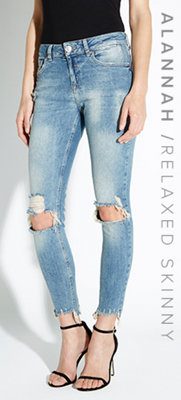 ALANNAH / RELAXED SKINNY