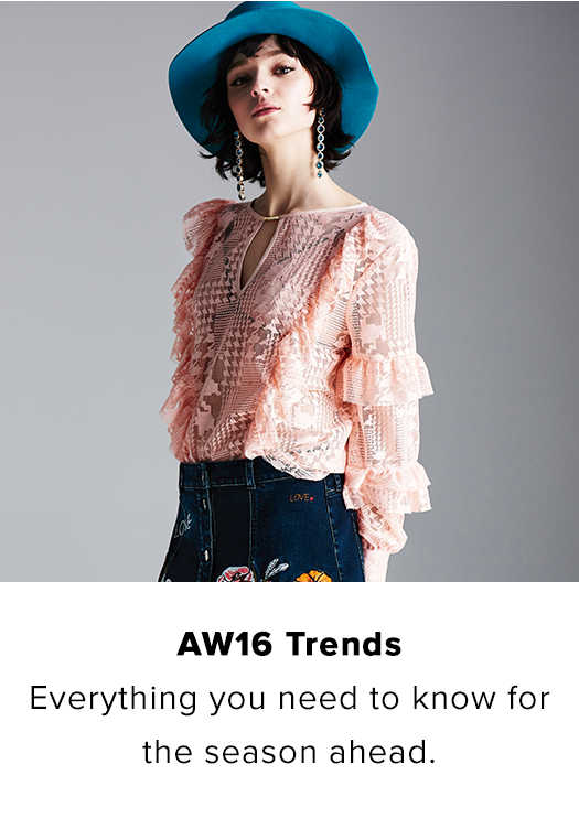 AW16 TRENDS