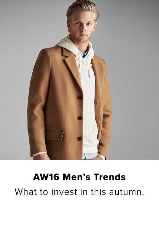 AW16 MEN'S TRENDS