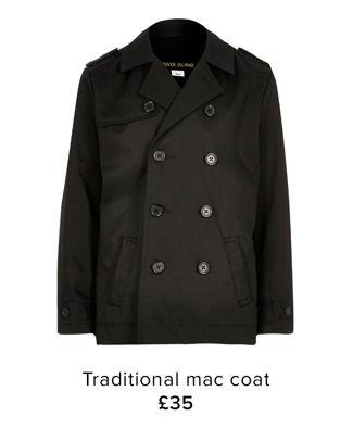 TRADITIONAL MAC COAT