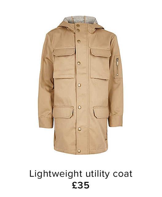 LIGHTWEIGHT UTILITY COAT
