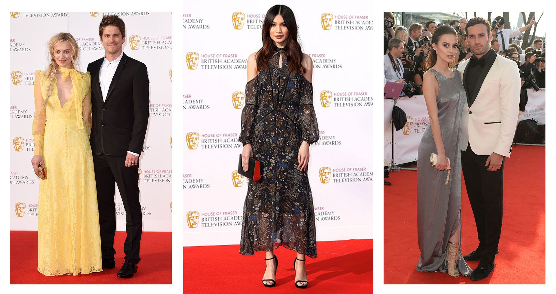 WHO WORE RI AT THE BAFTAS?