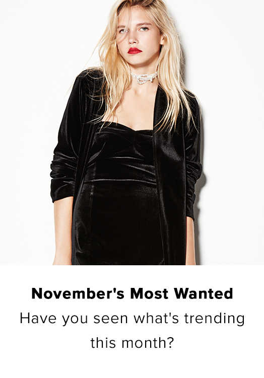 NOVEMBER'S MOST WANTED