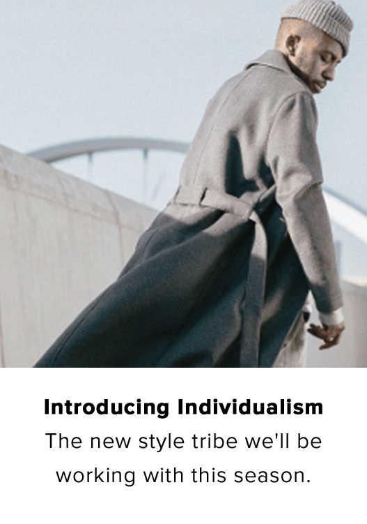 WIR STELLEN VOR: INDIVIDUALISMUS