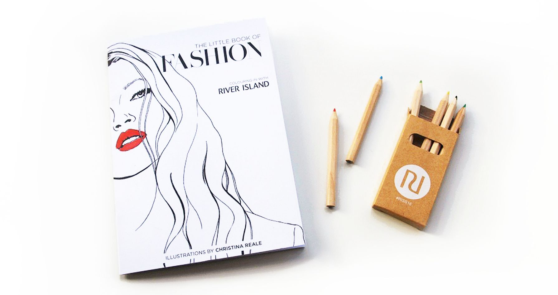 DOWNLOAD RIVER ISLANDS SS16 COLOURING BOOK: THE LITTLE BOOK OF FASHION