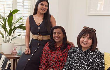 Meet Radhika, Katie & Rakhi