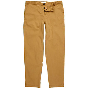 Light brown smart chino pants