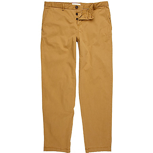 Light brown smart chino trousers