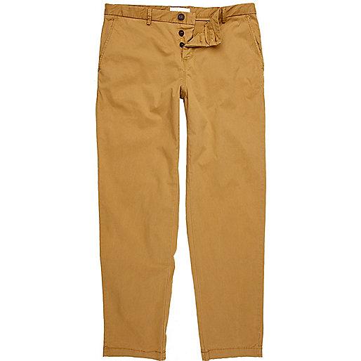 Light brown smart chino pants