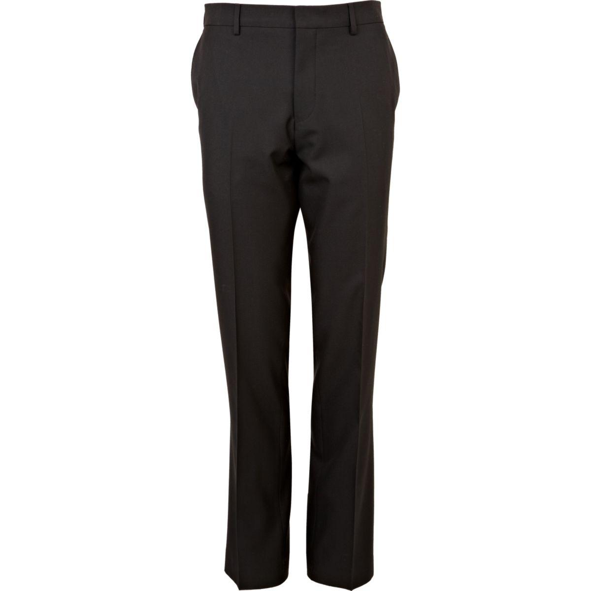 Pantalon de costume noir slim