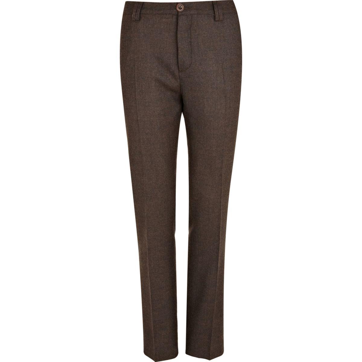Brown Holloway Road suit pants