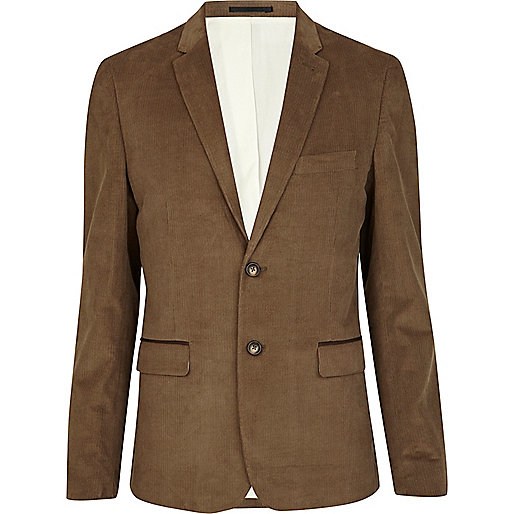 Brown Corduroy Blazer Photo Album - Reikian