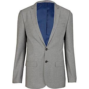 Veste de costume cintrée gris clair