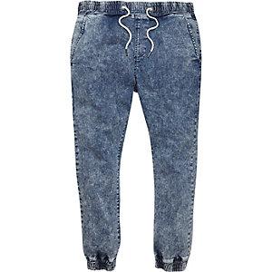 Mid acid wash Ryan skinny jogger jeans
