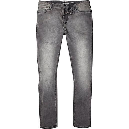Grey Sid skinny stretch jeans - jeans - sale - men