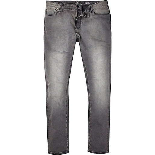 Grey Sid skinny stretch jeans - jeans - sale - men