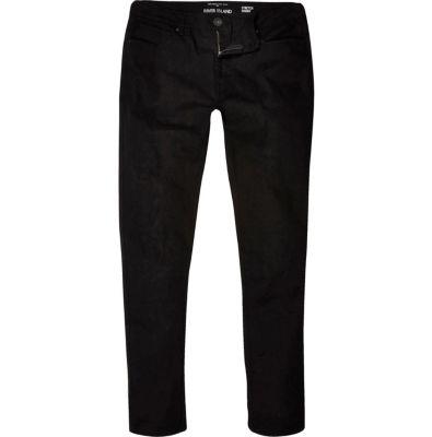 River Island Sid - Jean skinny stretch noir