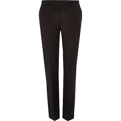 Black slim suit trousers - suits - sale - men
