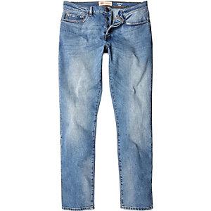 Light vintage blue wash Dylan slim jeans