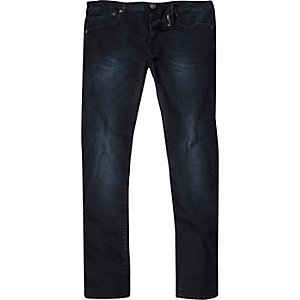 Blue-black Danny superskinny jeans