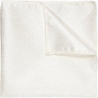 Mouchoir de poche blanc