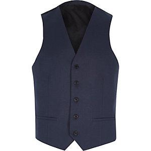 Dark blue vest