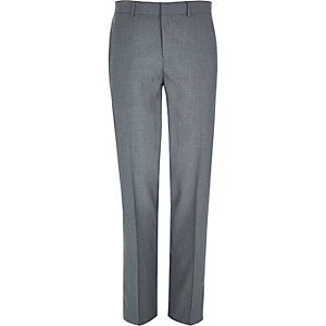 Grey smart classic suit pants