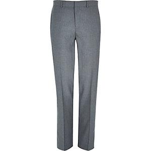 Pantalon de costume gris habillé coupe classique