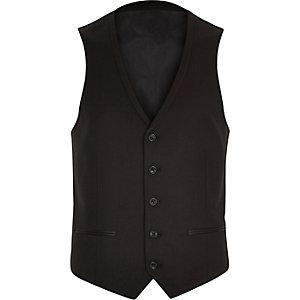 Black tux waistcoat