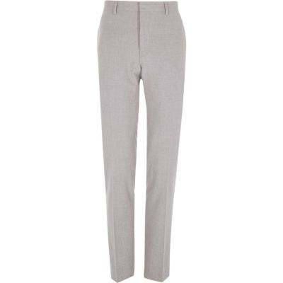 Grijze skinny pantalon