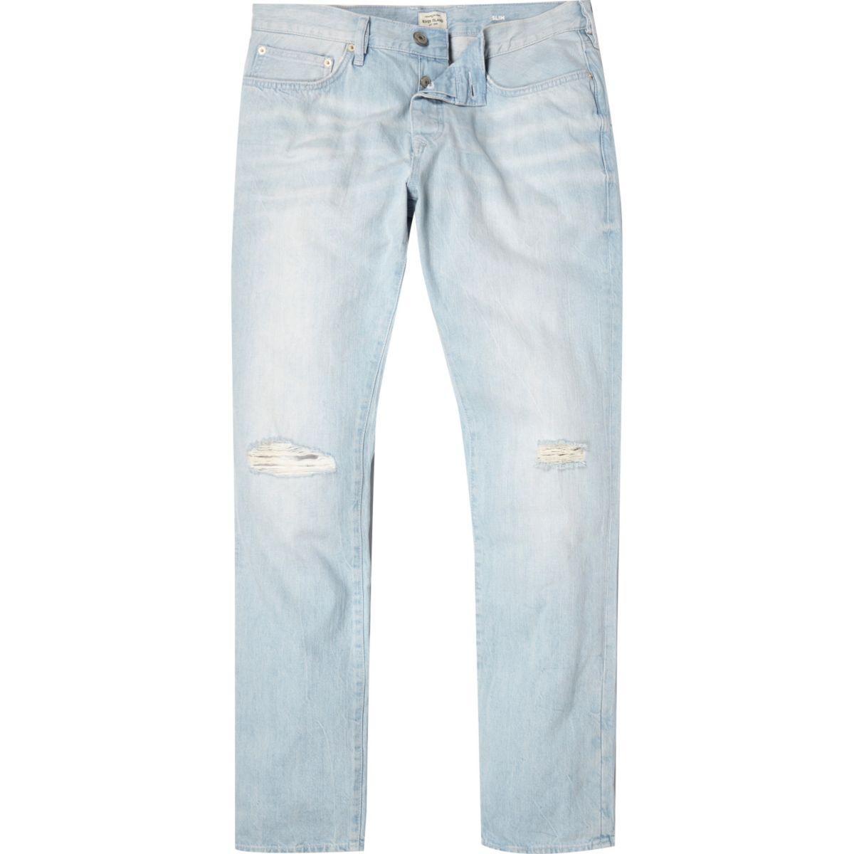 Light wash Dylan slim jeans