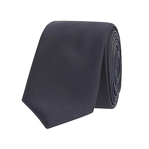 Marineblaue Krawatte