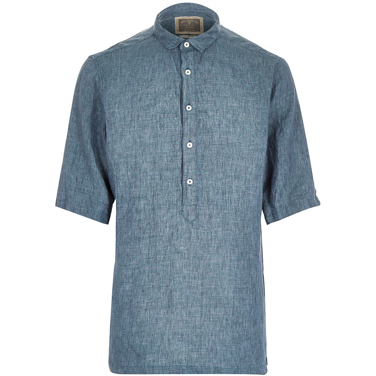 Green Holloway Road linen shirt