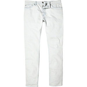 Bleached white Dylan slim jeans