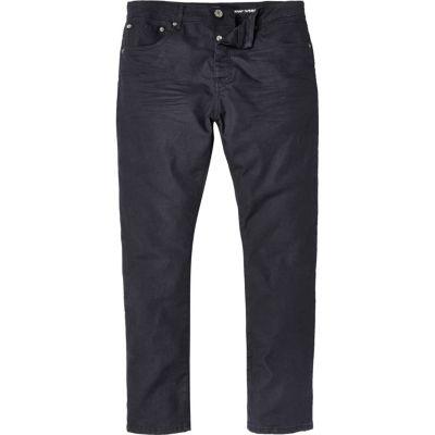 Chester dark wash jeans met smaltoelopende pijpen
