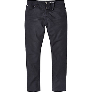 Dark wash Chester tapered jeans