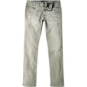 Dylan – Grüne Slim Jeans