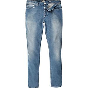 Mid blue wash Sid skinny stretchjeans