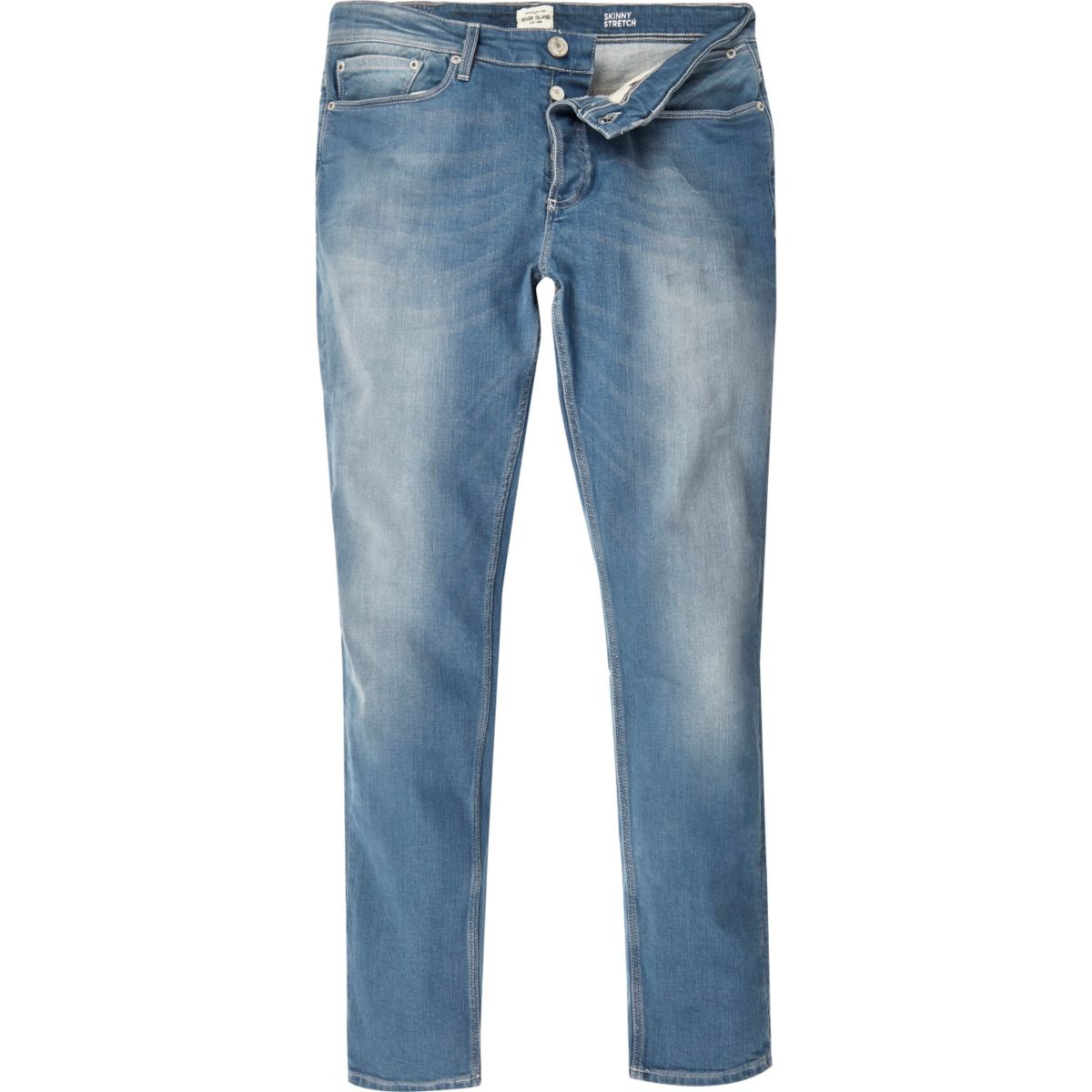 Sid – Skinny Stretch Jeans in mittlerer Waschung