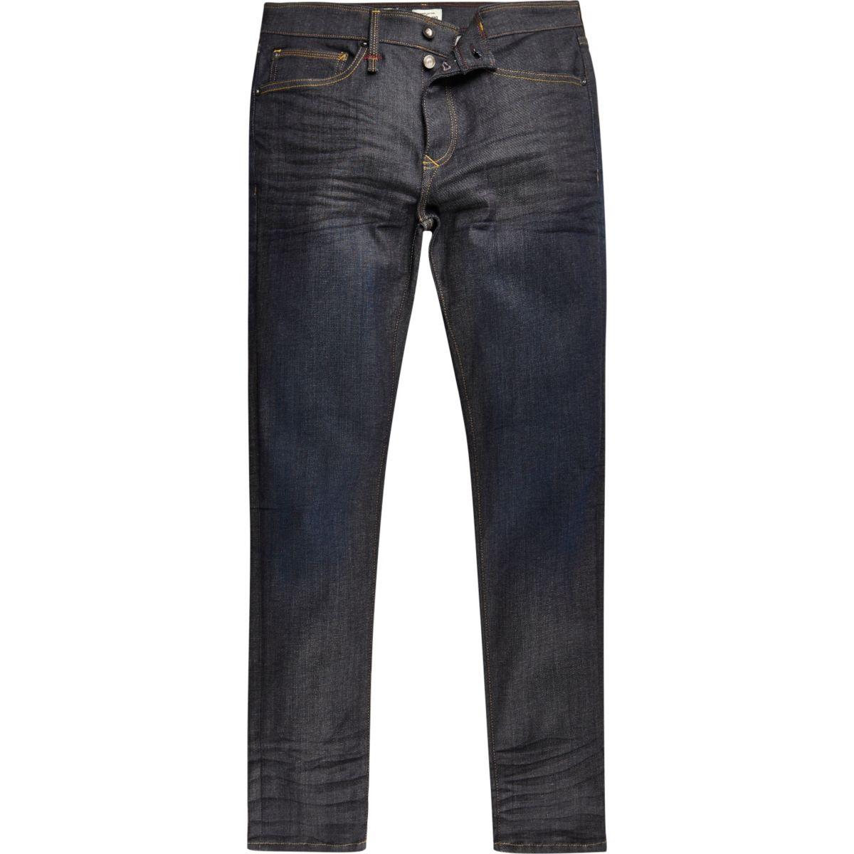 Sid – RI Flex – Dunkelblaue Skinny Jeans