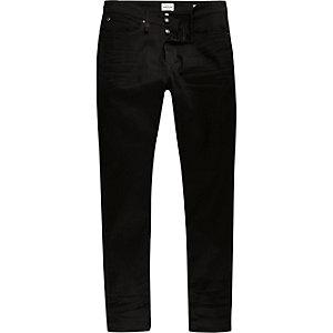Black wash RI Flex Sid skinny jeans