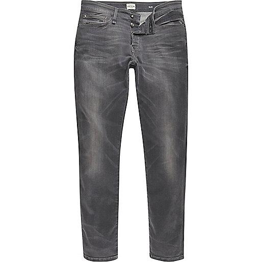 Dylan – RI Flex – Graue Slim Jeans