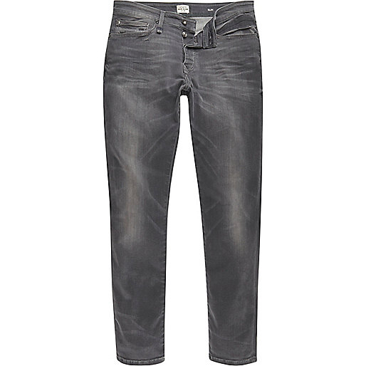Grey wash RI Flex Dylan slim fit jeans