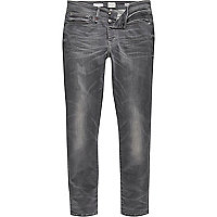 Grey wash RI Flex Sid skinny jeans