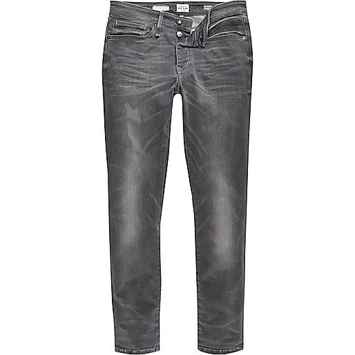 Sid – RI Flex – Graue Skinny Jeans