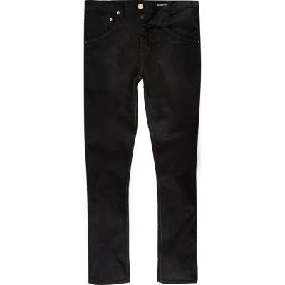 Zwarte Chester skinny taps toelopende jeans